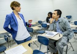 Teaching in English program at Montclair State University