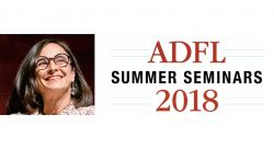 Image of Theresa Fiore and ADFL Summer Seminar 2018