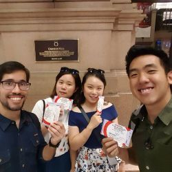 International students attend the New York International Artists Competition at Carnegie Hall