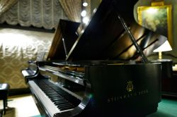 Piano in Steinway Hall