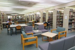 upper level study area