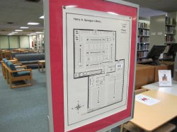 map of library