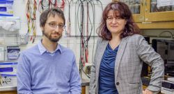 Associate Professor Marc Favata and Assistant Professor Rodica Martin