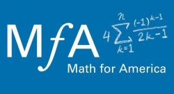 Feature image for Partnership with Math for America