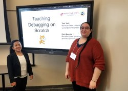 students presenting at NJECC conference