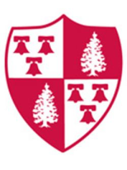 Montclair State crest logo red and white