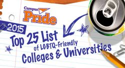 Feature image for Montclair State Named to Campus Pride Top 25 LGBTQ-Friendly Colleges List