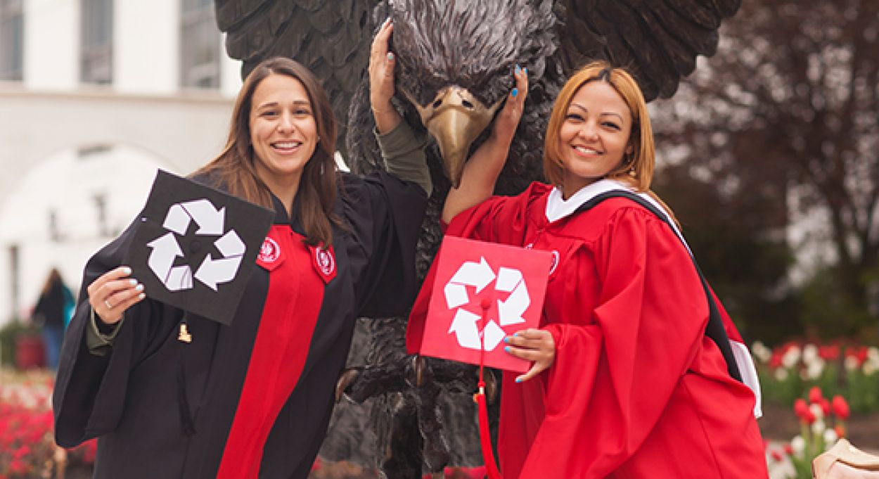 Class Of 2016 Goes Green – News Center - Montclair State University