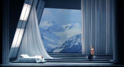 "A set design by Erhard Rom for Handel's opera, ""Semele,"" at the Seattle Opera."