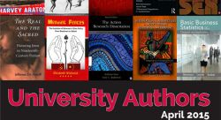 Feature image for New Works by University Authors Debut at Annual Reception
