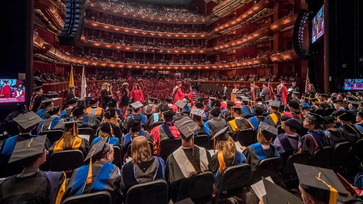 2018 graduate school commencement  u2013 news center
