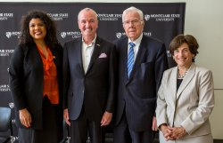 Britnee Timberlake, Governor Phil Murphy, Thomas Giblin, and Susan A. Cole