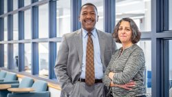Associate Provost for Undergraduate Education and Dean of University College David S. Hood and Assistant Provost for Student Success, University College Danielle Insalaco-Egan