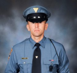 Photo of State Trooper Corey Beczo '15