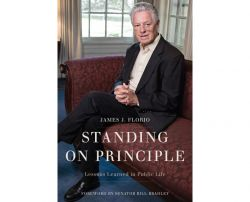 "Book cover of ""Standing on Principle"""
