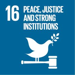 Goal 16: Peace, Justice, and Strong Institutions