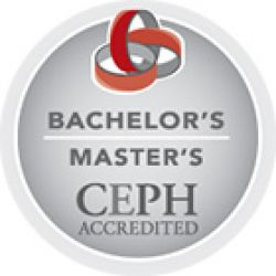 Bachelor's/Master's CEPH Accredited badge