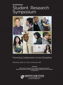 Student Research Symposium Cover for 2013