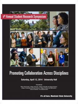 Student Research Symposium Cover for 2014