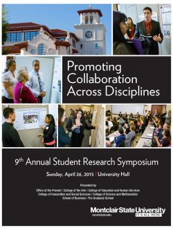 Student Research Symposium Cover for 2015