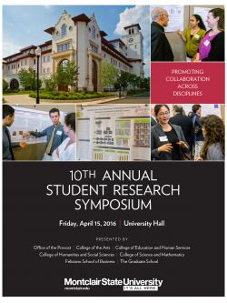 Student Research Symposium Cover for 2016
