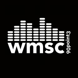 wmsc logo white on black