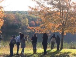 Jefferson Gold Students during Conservation Photography