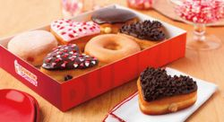Don't forget to get your heart-shaped donuts all month long at the campus Dunkin Donuts!