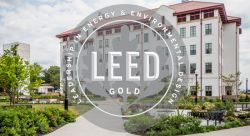 Feature image for CELS Receives First LEED Gold Certification on Campus