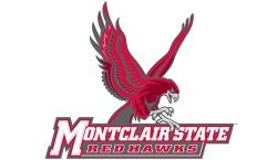 Athletics logo with Red Hawk and the words Montclair State Red Hawks under