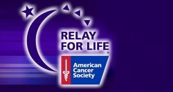 The logo for the Relay for Life.