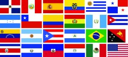 Spanish speaking countrys flags