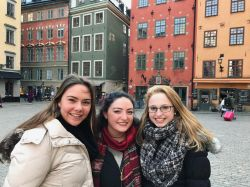 Students in Stockholm