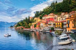 Resort town Menaggio on lake Como, Milan, Italy