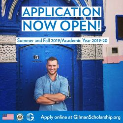 Gilman Scholarship Post
