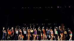 A Chorus Line production