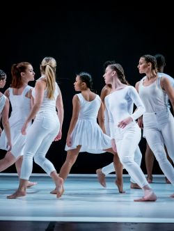 dancers in white
