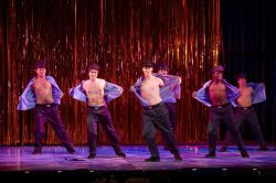 Production photo from The Full Monty