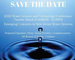Save the date for the 2020 Water Science and Technology Conference