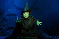 MSU Alum Jessica Vosk as the Wicked Witch of the West on Broadway