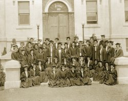 Photo of first graduating class