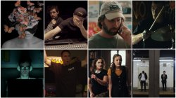 collage of stills from featured films