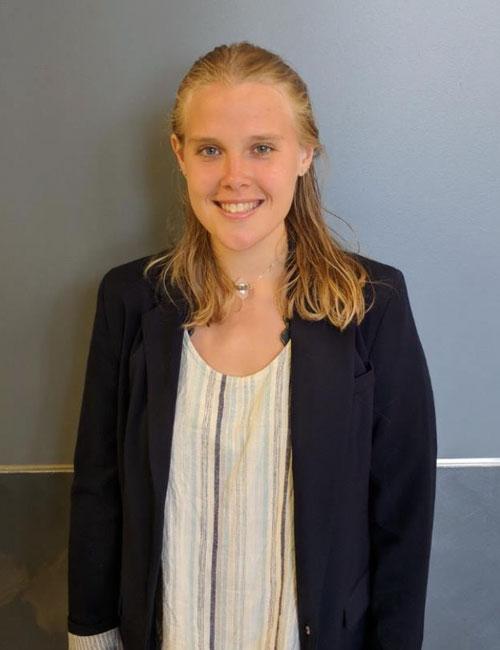Headshot of SGA Executive Treasurer Heather Francis.