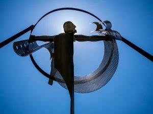 Ophiuchus sculpture